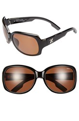 Women's Zeal Optics Polarized Plant Based Sunglasses Black Gloss