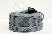 Fabric Cable Textile Sleeve Lighting Cable Woven Cable Braided Wire Lighting Cord Iron Cotton Cable Braided Iron Cable Textile Power Cord Cloth Coverd Cable Zangra.Com