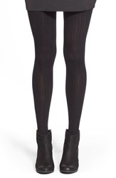 Junior Women's Capelli Of New York Cable Knit Tights