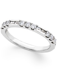 No Vendor Diamond Wedding Band 1 2 Ct. T.W. In 14K White Gold No Color