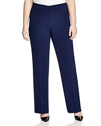 Marina Rinaldi Plus Rame Wide Leg Pants Navy