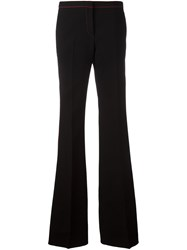Burberry Runway Tailored Bootcut Trousers Black