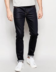 Wesc Alessandro Slim Fit Jean Raw Clean Wash Navy
