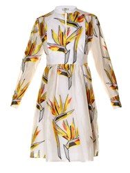Fendi Bird Of Paradise Print Dress