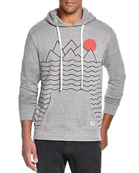 Altru Mountain And Sun Graphic Hoodie