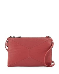 French Connection Shane Faux Leather Crossbody Bag Morello