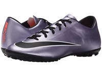 Nike Mercurial Victory V Tf Urban Lilac Bright Mango Black Men's Soccer Shoes Gray