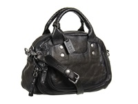 Frye Elaine Vintage Satchel Smoke Antique Pull Up Satchel Handbags Brown