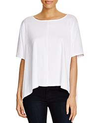 Lilla P High Low Hem Tee White