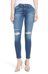 Joe's Jeans Women's 'Icon' Ripped Ankle Skinny