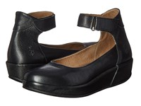 Fly London Bana661fly Black Mousse Women's Shoes
