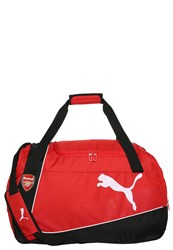 Puma Arsenal London Sports Bag Red Black White