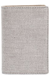 Skagen Men's 'Kvarter' Folding Card Case Grey