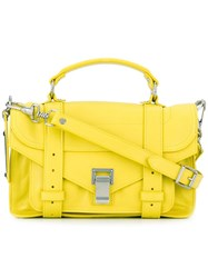 Proenza Schouler Tiny 'Ps1' Satchel Yellow Orange