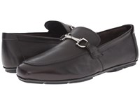 Salvatore Ferragamo Nowell Buckle Loafer Hickory Men's Slip On Dress Shoes Brown