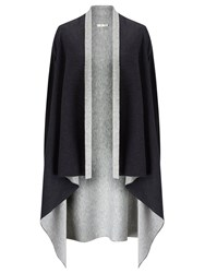 Jacques Vert Reversible Coverup Knit Grey
