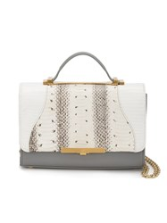 Khirma Eliazov 'Diamond Mini' Satchel Grey