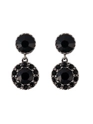 Givenchy Drop Magnetic Earrings Black