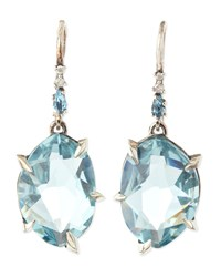 Midnight Marquise Topaz And Pave Diamond Earrings Alexis Bittar Fine Blue