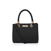 Carvela Dea Mini Shoulder Handbag Black