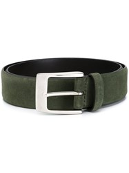 D'amico Suede Belt Green