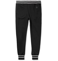 Todd Snyder Champion Tapered Loopback Cotton Jersey Sweatpants Black