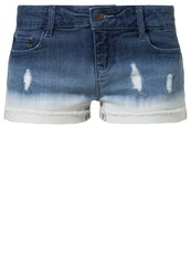 Buffalo Denim Shorts Blue