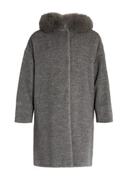 Max Mara Kirsch Coat Light Grey