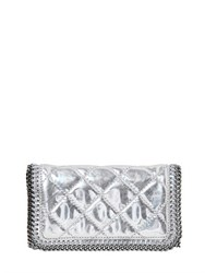 Stella Mccartney Quilted Mirror Faux Leather Shoulder Bag