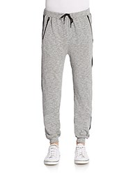 Threads 4 Thought Stripe Trim Jogger Pants Grey