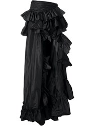 Roberto Cavalli Frill Tail Skirt Black