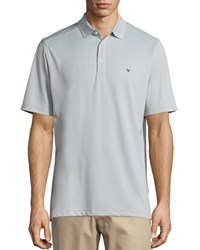 Callaway Micro Stripe Short Sleeve Polo Shirt High Rise