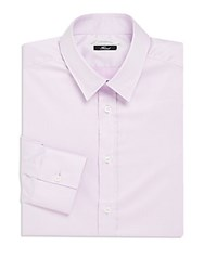 Versace Soft Cotton Dress Shirt Lavender