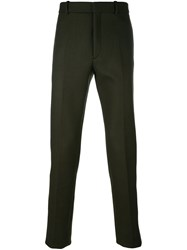 Jil Sander Skinny Trousers Green