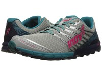 Inov 8 Trailtalon 250 Silver Navy Teal Women's Running Shoes Gray