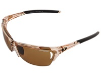 Tifosi Optics Radius Polarized Fototec Crystal Brown Brown Polarized Fototec Lens Sport Sunglasses