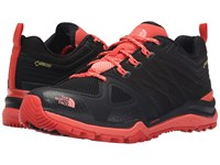 The North Face Ultra Fastpack Ii Gtx Tnf Black Neon Peach Women's Shoes