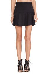 Bb Dakota Birch Skater Skirt Black