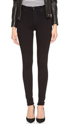 Ag Jeans Superior Stretch Farrah High Rise Jeans Super Black