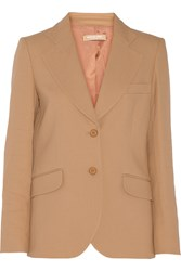 Michael Kors Crepe Blazer Brown