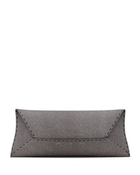 Vbh Manila Stretch Sparkle Clutch Bag Gray