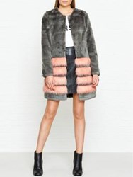 Unreal Fur Tundra Faux Jacket Grey