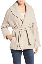 Strom Women's 'Una' Shawl Collar Wrap Sweater