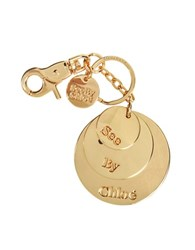 See By Chlo Sbc Medallion Round Keychain