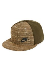 Nike Men's 'True Tech' Snapback Cap Green Dark Loden Black
