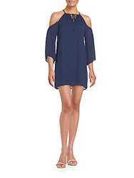 Alexia Admor Cold Shoulder Dress Navy