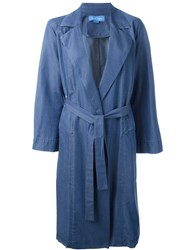 Mih Jeans 'Carmel' Trench Coat Blue