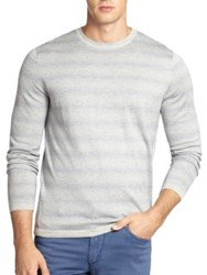 Saks Fifth Avenue Silk And Cashmere Jacquard Sweater
