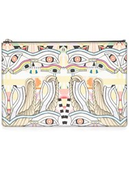 Givenchy 'Crazy Cleopatra' Printed Clutch