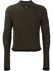 Jean Paul Gaultier Vintage Lurex Knit Jumper Black